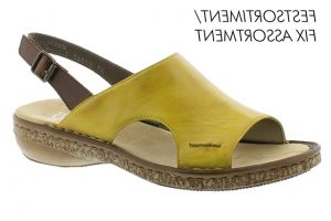 Rieker yellow sandal