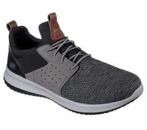 Skechers - 65474 (Black/Grey)