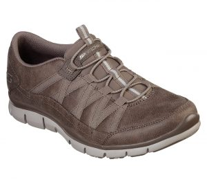 SKECHERS – 23356 (DARK TAUPE)