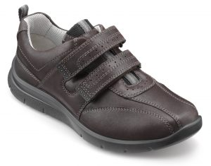 HOTTER – ENERGISE SHOES (Dark brown)