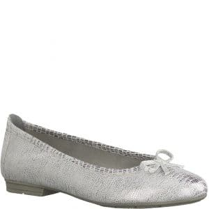 Jana metallic shoe