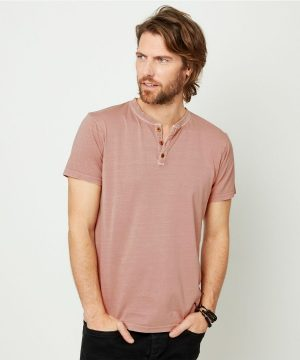 Joe Browns Pink Henley