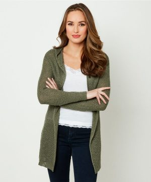 Chic and sophisticated, this funky hooded Joe Browns cardigan will be a go-to all summer long. Dress it up with skinnies and boots, or wrap up on the beach to watch the sunset.