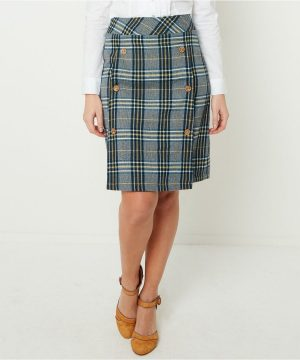 Joe Browns Checked Skirt. Our Unique Spring Styles Have Just Arrived - Come In & See How Good You Could Look. Discover Distinctive Styles You Wont Find Anywhere Else - Time To Stand Out From The Crowd.