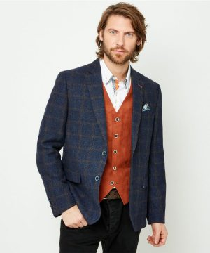 Joe Browns Mens Check Blazer