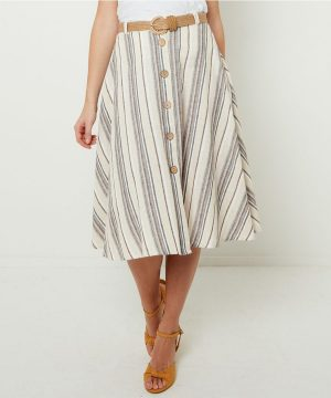 Joe Browns Striped Skirt