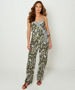 Joe Browns Palm Print Jumpsuit