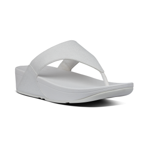 SUMMER SANDAL LULU SHIMMER, FITFLOP,WHITE,NUTRAL,GREATFORWALKING,AT BRIGGS OF MORECAMBE