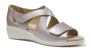 HOTTER – RIGA SANDALS (METALLIC)