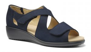 HOTTER – RIGA SANDALS (NAVY)