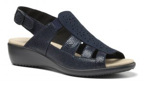 HOTTER – ROMA SANDALS (NAVY)